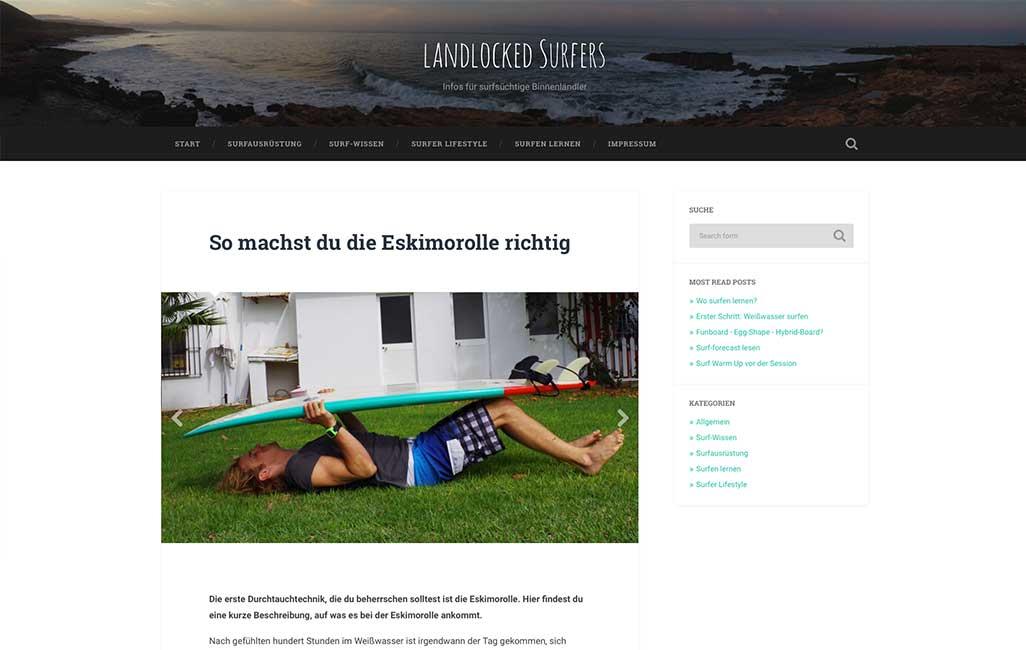 Landlocked Surfers Beitragsansicht