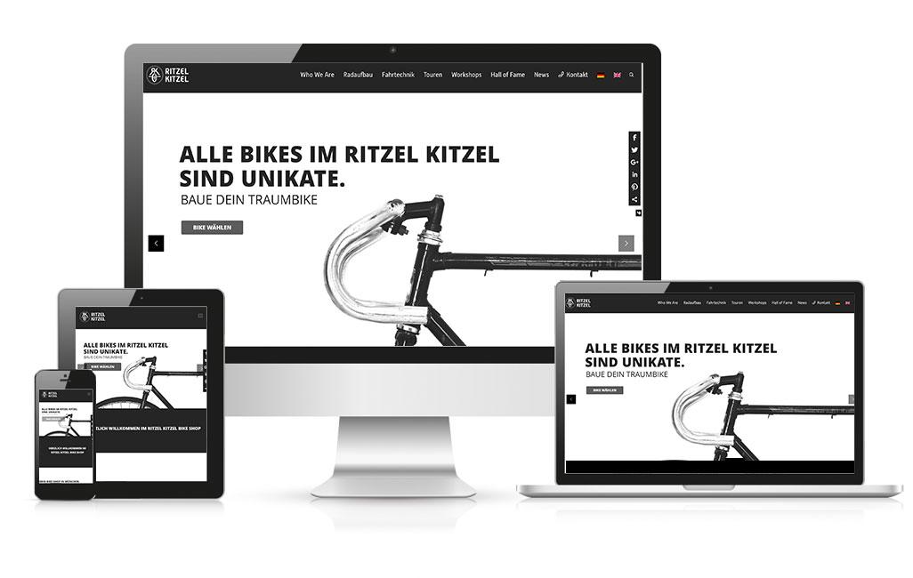 Ritzel Kitzel WordPress Webseite