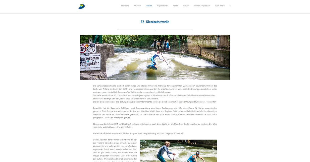 IGSM WordPress Webseite erstellen