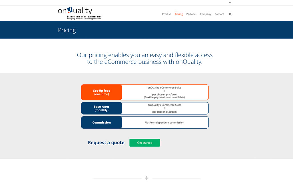 Onquality Wordpress Website erstellen