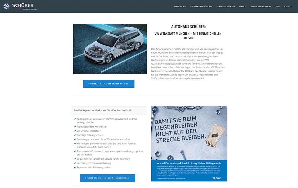 Autohaus Schürer VW München