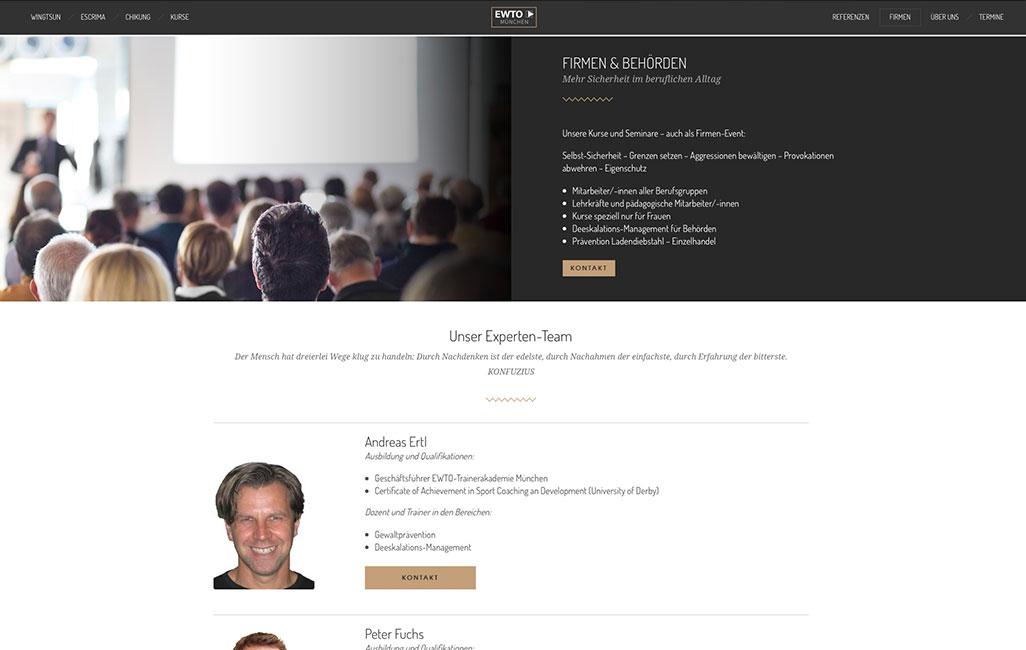 Relaunch WordPress EWTO München
