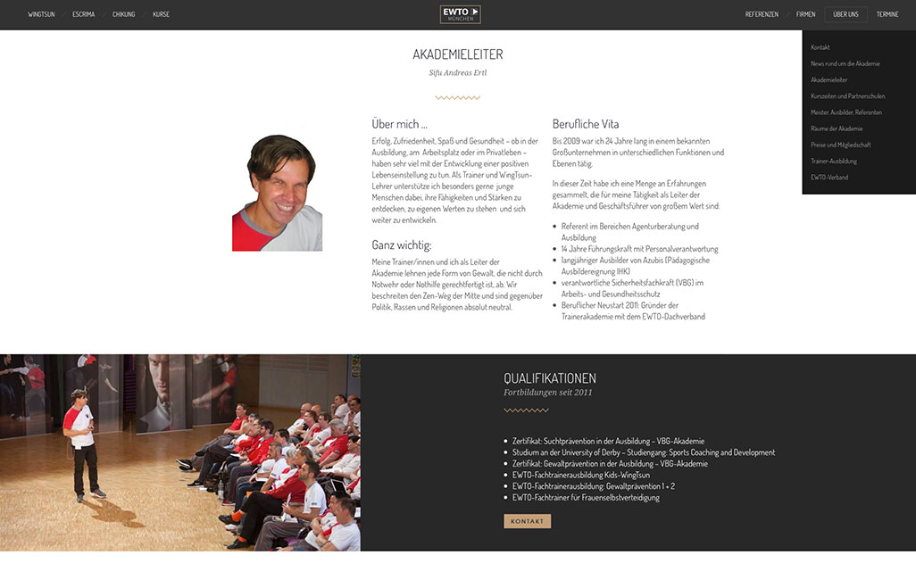 WordPress Navigation EWTO