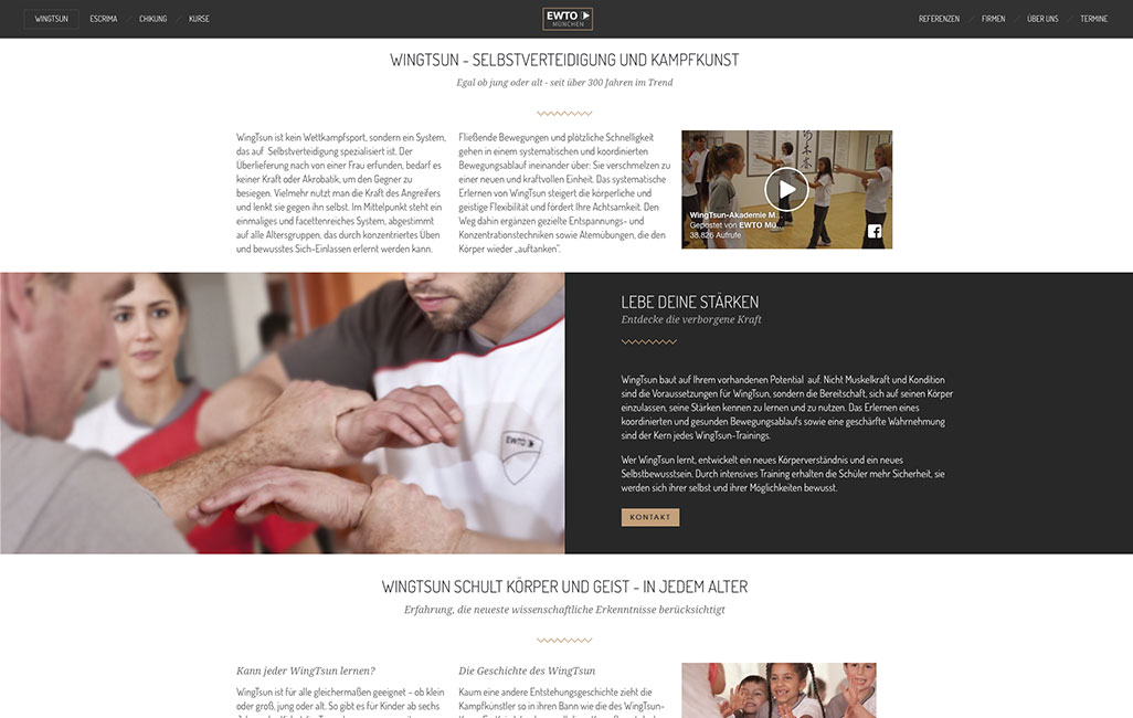 WordPress Relaunch EWTO