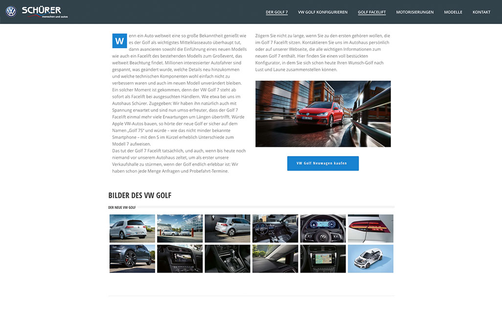 VW WordPress Website
