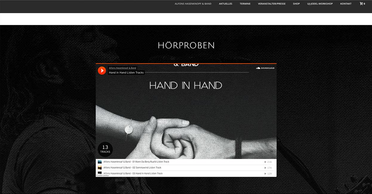 Alfons Hasenknopf Individuelle Anpassung WordPress