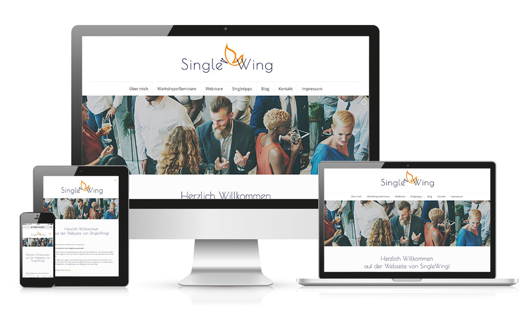 Singlewing Wordpress Homepage