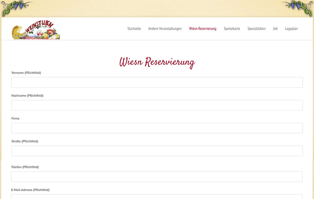 Traditionsunternehmen Wordpress München