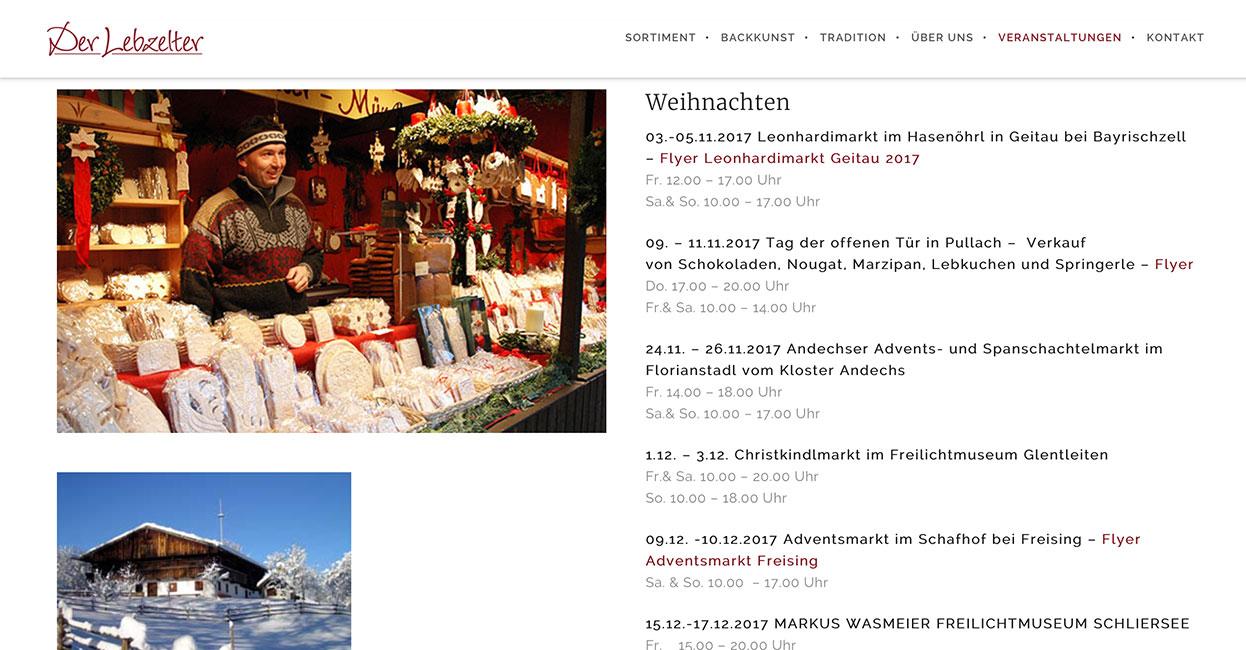 WordPress Webseite Bayern