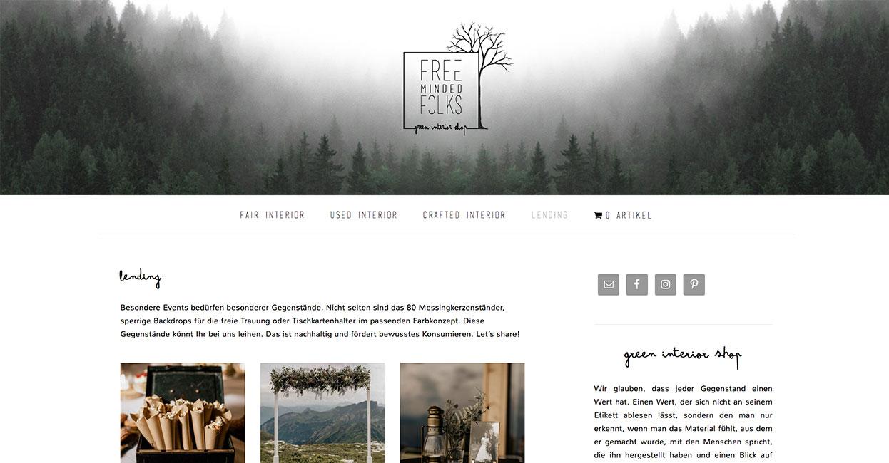 WordPress Woocommerce Onlineshop