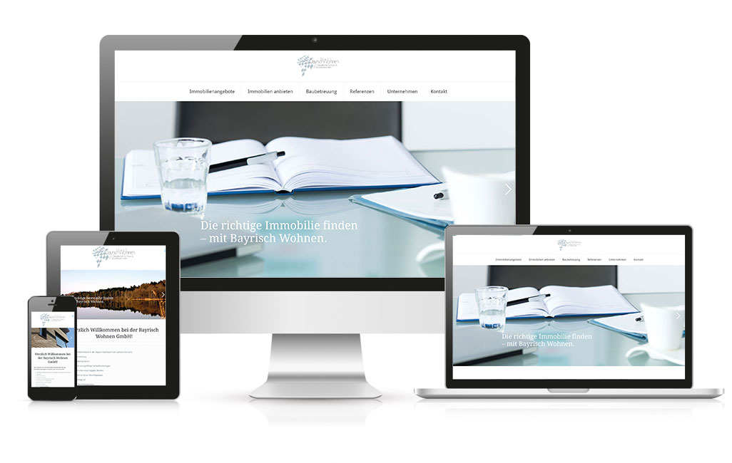 bayrisch wohnen wordpress webseite