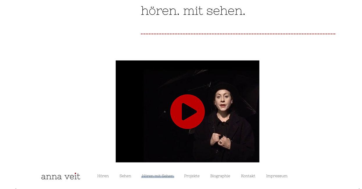 Anna Veit WordPress Portfolio