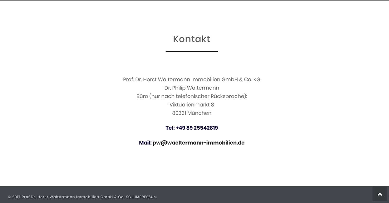 projekt immobilien waeltermann