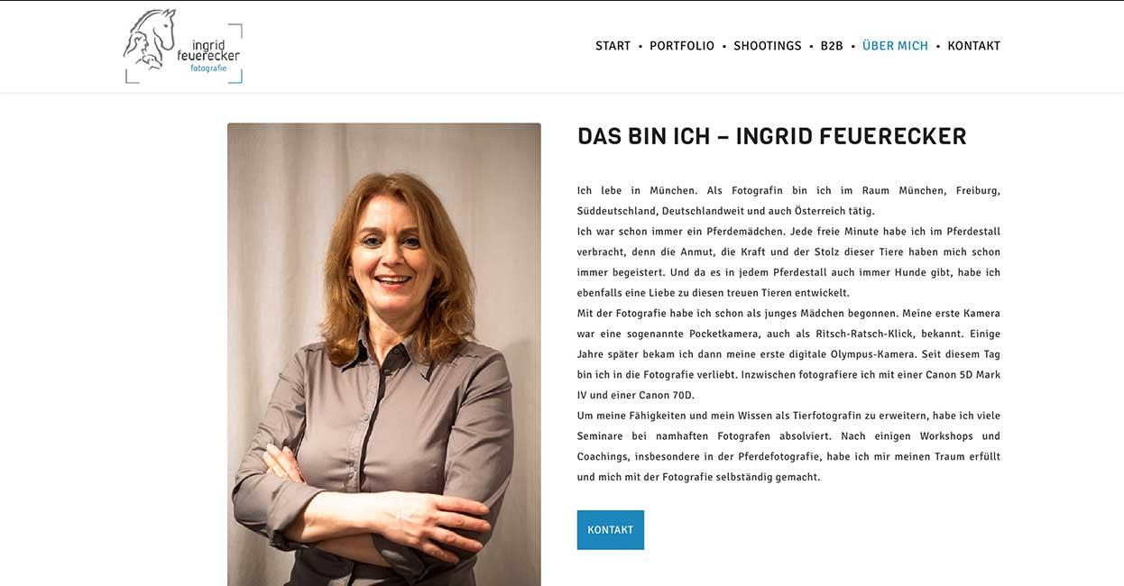 Fotografin München WordPress