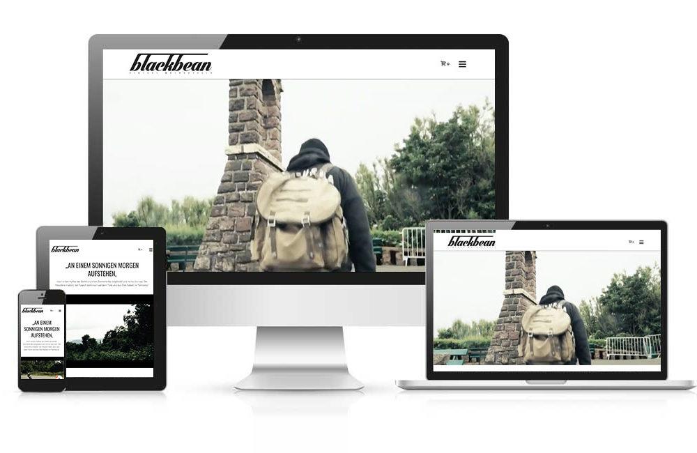 WordPress Werkstatt Homepage – Blackbean Motorcycles München