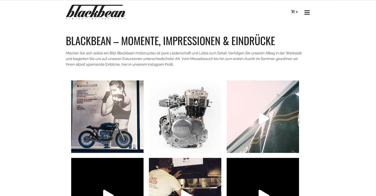 Wordpress Webseite Bildergalerie