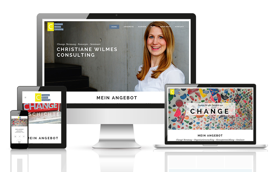 Change Manager WordPress Website