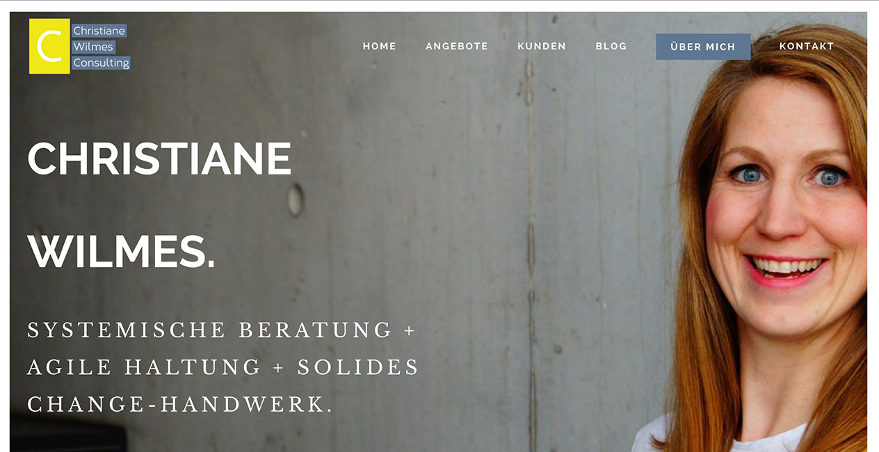 Christiane Wilmes WordPress