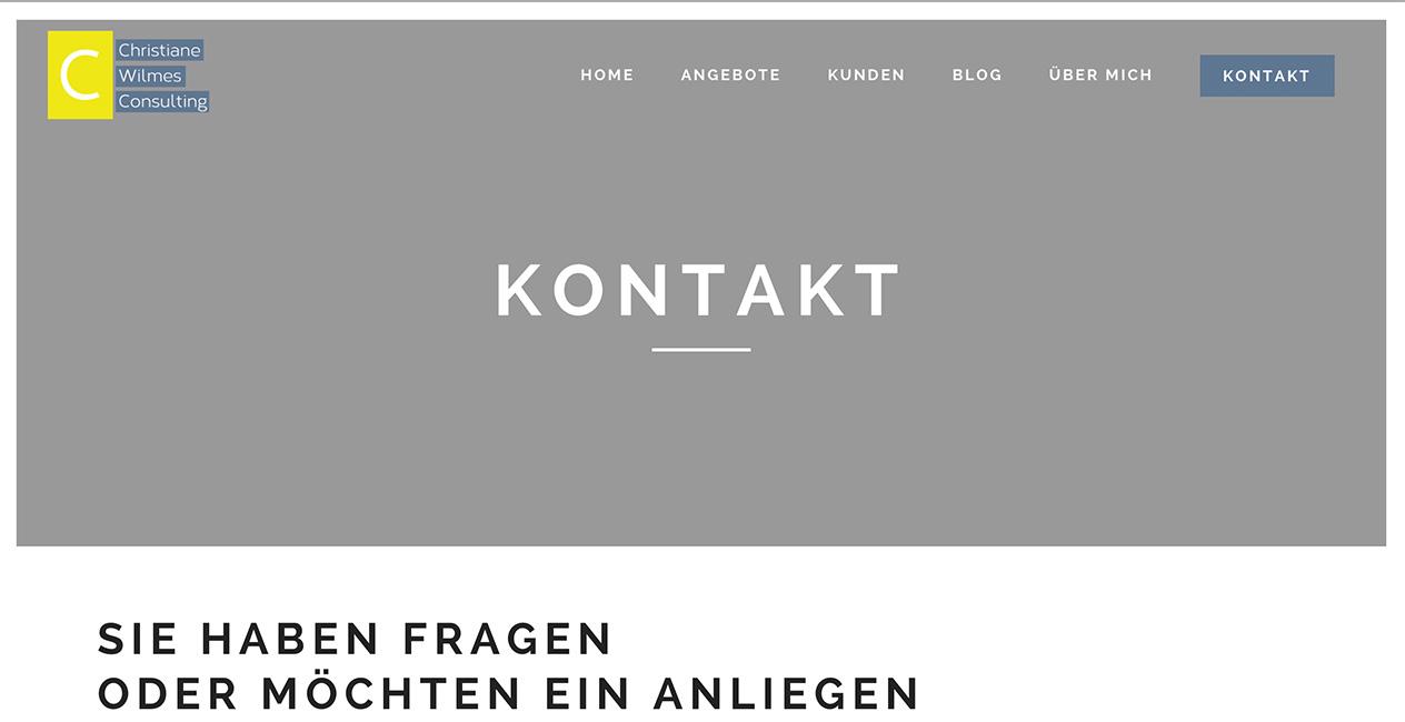 Coaching Webseite München