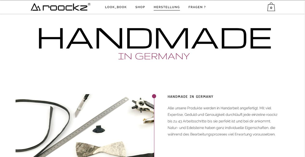Handmade Steinfliegen WordPress München