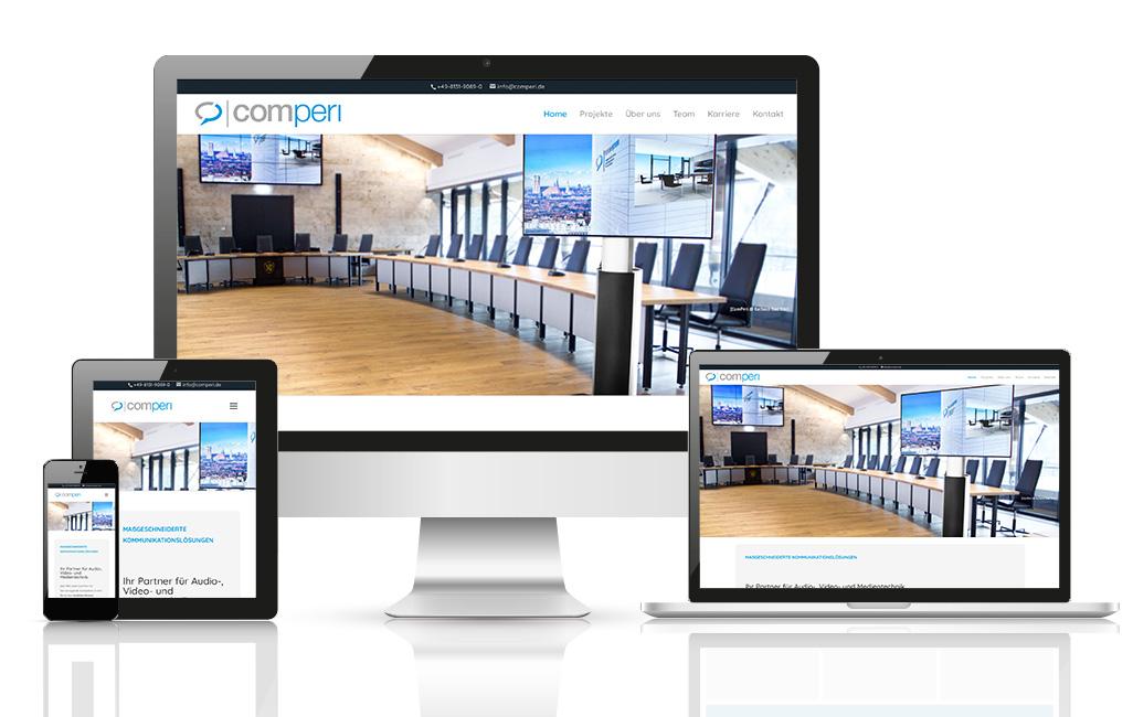 Medientechnik Firma WordPress