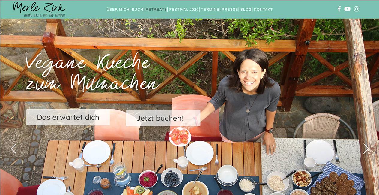 Vegane Küche WordPress Retreats