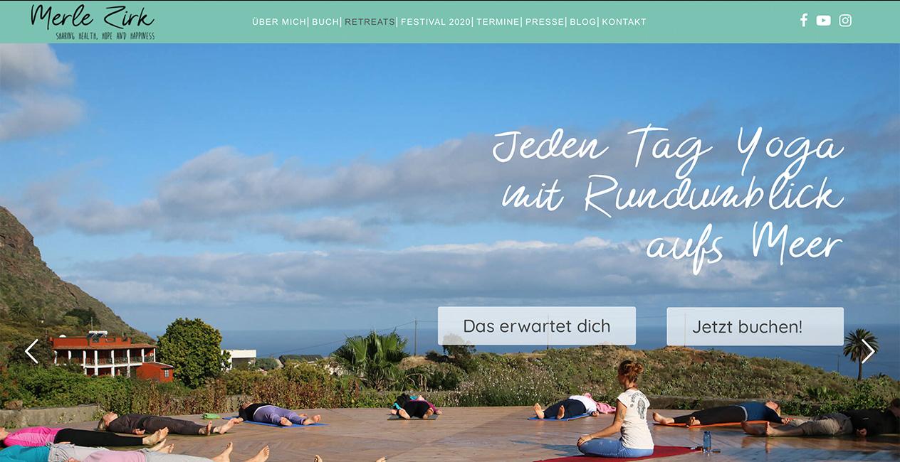 Yoga Retreats WordPress